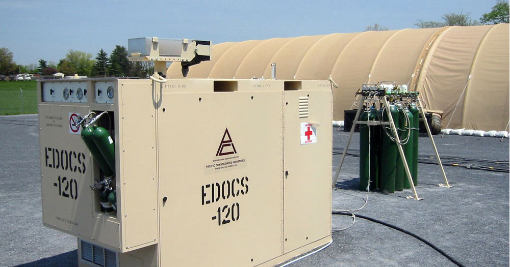 Medical Oxygen Generator EDOCS & HOBS Field Hospital COVID-19 Coronavirus