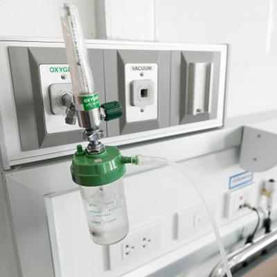 Hospital Room Oxygen Tank