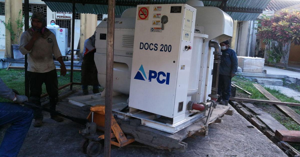 PCI Gases Portable Oxygen Generation Plant